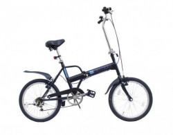 "Capriolo Folding Bike 20""/6HT 6speed - crna ( 905501-16 )"