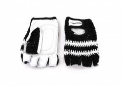 Capriolo Sportske rukavice - retro crochet dizajn XL crne ( 185121-C )