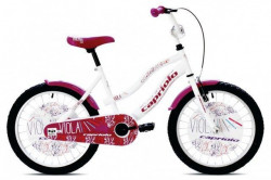 "Capriolo Viola 20""HT Bicikl belo-ljubicasto ( 917126-20 )"