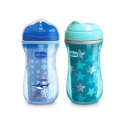 Chicco čaša 12m+, active cup, plava ( A049963 )