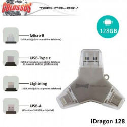 Colossus Multi USB i dragon 4u1 u016a 128GB ( 8606012416130 )
