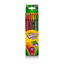 Crayola 12 twisty pisi-brisi olovaka drvena bojica ( GAP256360 )