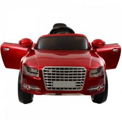 Dečiji auto na akumulator model 2401 sa daljinskim - metalik crveni