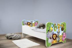 Dečiji krevet 140x70 cm happy kitty MADAGASCAR ( 7542 )