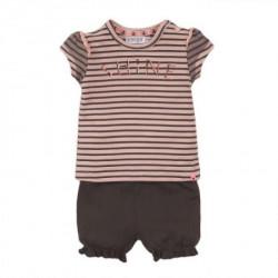 Dirkje komplet (majica kratkih rukava, šorts), devojčice ( A047313-1-86 )