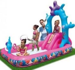 Disney Princess Set sa vodenim toboganom sa prstenom na naduvavanje ( 45805 )