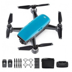 DJI DRON SPARK Fly More Combo, Sky Blue ( 0562009 )