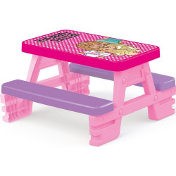 Dolu Piknik klupa za decu - Barbie ( 016089 )
