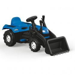 Dolu Ranchero Traktor sa kašikom na pedale - Plavi ( 080479 )