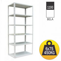 Eco Metalna univerzalna polica 180x75x30cm ( 1193 )