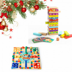 Edukativni paketić-Društvene igre - uzrast 1-3 godine