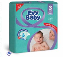 Evy baby pelene giant 3 midi 5-9kg 90kom ( A004741 )