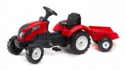 Falk Garden Master Traktor na pedale sa prikolicom 2058J - Crveni