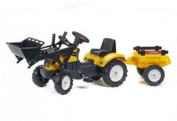 Falk Toys Traktor na pedale sa prikolicom i kašikom 2055cm