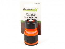 "Gartenmax spojka plastična 1/2"" sa stopom-soft ( 0311510 )"