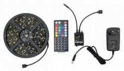 Gembird RGB led traka + daljinski, 5m LED-S-RGB500-01
