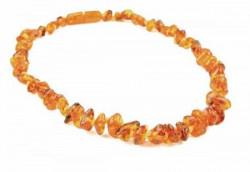 Grunspecht ogrlica od ćilibara, 35cm boja med ( 3380001 )
