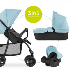 Hauck trio set shopper, plava ( A049462 )