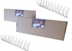 Home Set Manji - 3 komada šiljaka za rasterivanje ptica sa dvostrano lepljivom trakom