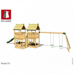 Hy-Land Javno igralište - Projekat 7 sa ljuljaškama