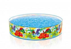 Intex bazen sa tvrdim ivicama, životinje, 122x25cm ( A021855 )