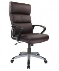 Kancelarijska fotelja 2129 od eko kože - Braon
