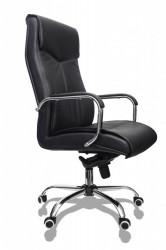 Kancelarijska stolica FA-3001 od eko kože - Crna