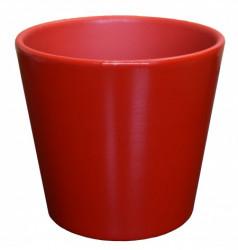 Kerbek saksija manhattan 13.5cm uni crvena ( KE D10/135/002 )