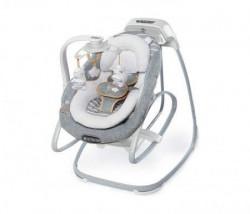 Kids II lezaljka smartsize gliding swing & rocker - bella teddy 11019 ( SKU11019 )
