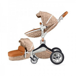 Kolica hot mom light brown 2u1 (sportsko sediste+korpa) ( F023LBROWN )