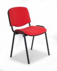 Konferencijska stolicxa Iso black C-2 crvena