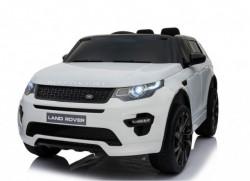 Land Rover Discovery 239 Licencirani džip sa kožnim sedištem i mekim gumama - Beli