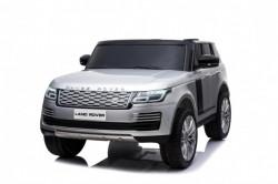 Land Rover Dvosed 4x4 Licencirani sa kožnim sedištima i mekim gumama - Sivi