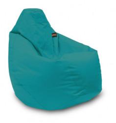Lazy Bag - fotelje - prečnik 90 cm - Tirkizni