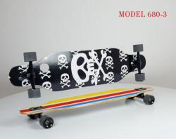 Longboard Skejt nosivost do 100kg - Model 680-3