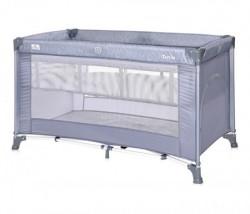 Lorelli prenosivi krevet torino 2 nivoa - silver blue (2021) ( 10080462124 )