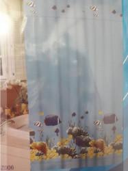 Minotti Kupatilska zavesa - poliester 200x180 cm RIBICE ( MZ006 )
