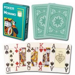 Modiano Cristallo Poker Karte - Zelene ( 300483 )