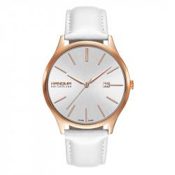 Muški Hanowa Swiss Pure Roze Zlatni Beli ručni sat