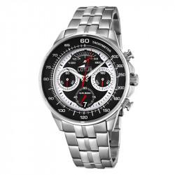 Muški Lotus Chrono Crno Beli Sportski ručni sat sa brzinometrom