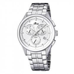 Muški Lotus Minimalist Beli Hronograf Elegantni ručni sat