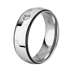 Muški Lotus Style Steel Rings Prsten Od Hirurškog čelika Sa Kristalom 64