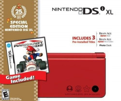 Nintendo DSI XL RED + NSMB NINTENDO DS
