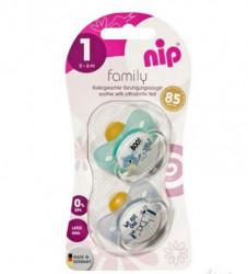 Nip Family kaučuk laža 0-6 2 kom ( A022323 )