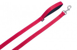 Nobby 78514-01 Povodac Soft Grip 15mm, 120cm crveni ( NB78514-01 )