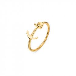 Paul Hewitt Anchor Rope Zlatni Prsten Od Hirurškog Čelika 54