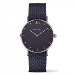 Paul Hewitt Sailor Line Plavi Srebrni ručni sat sa plavim perlon kaišem