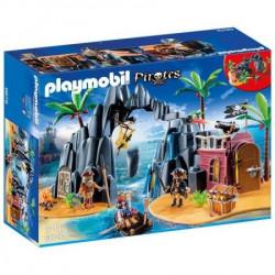 Playmobil Pirates - ostrvo sa blagom ( 6679 )