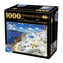 Puzzle 1000 discover europe ( 07/65995-06 )