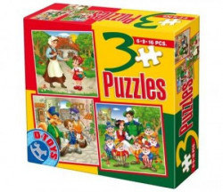 Puzzle 3 FAIRY TALES 07 ( 07/50922-07 )